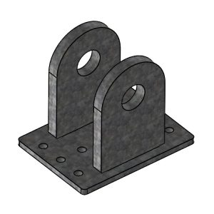 H-Series Gable Upright Connector for Ridge   00260   Fabric Structure Systems