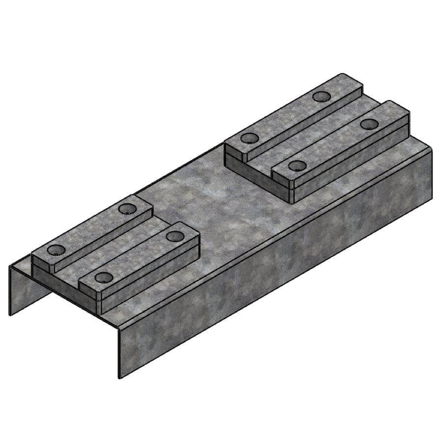 H-Series 202 Steel Rafter Head | 00303 | Fabric Structure Systems