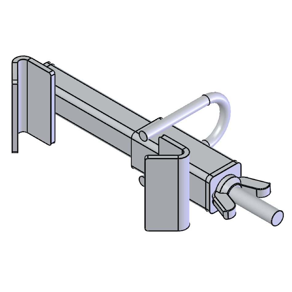 H-Series Mahaffey Light Bracket | 01541 | Fabric Structure Systems