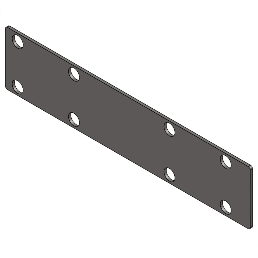 H-Series 202 Rafter Insert Plate | 03148 | Fabric Structure Systems