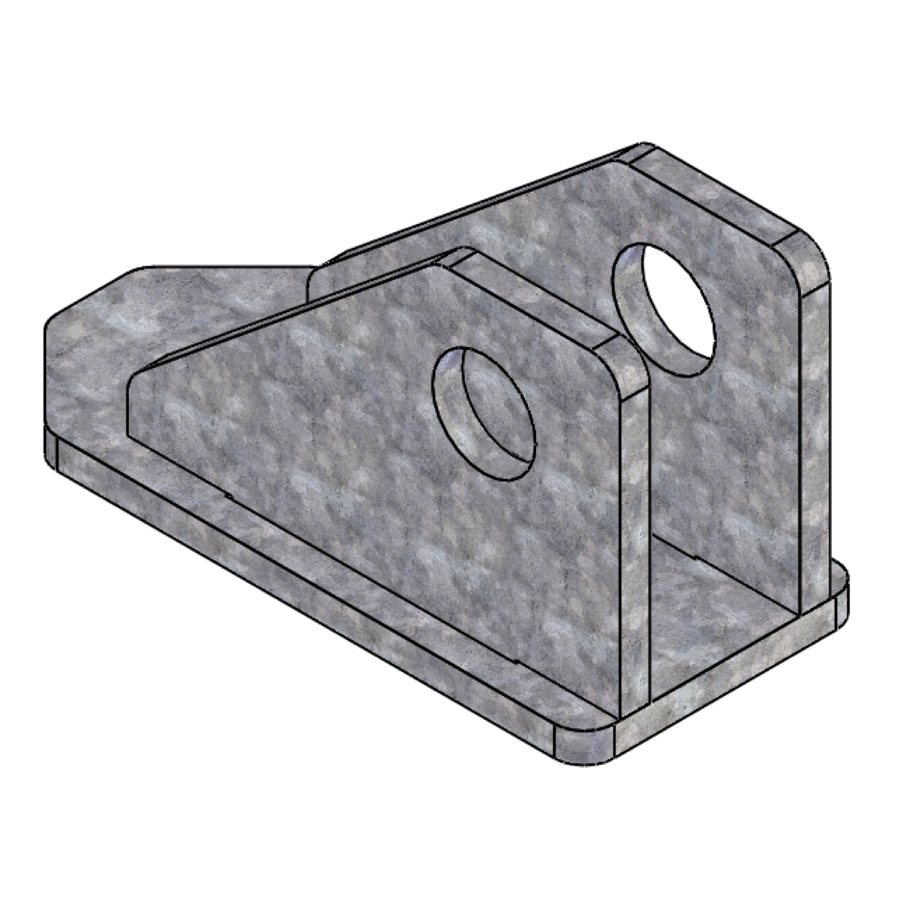 L-Series L200 Series Cable Bracket 1 | 04535 | Fabric Structure Systems