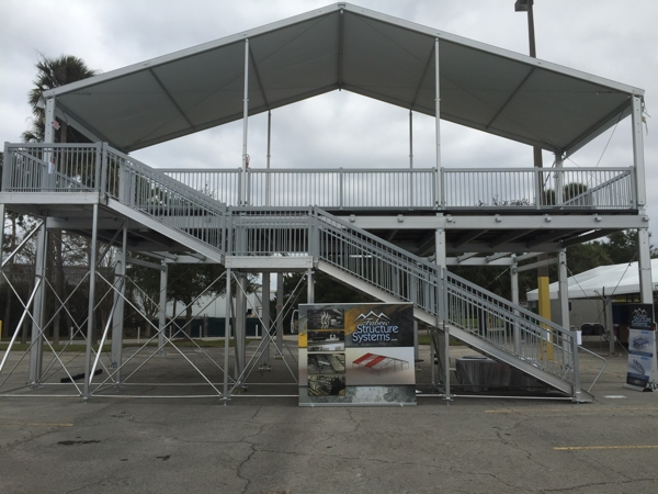 High Rise Platform | Fabric Structure Systems
